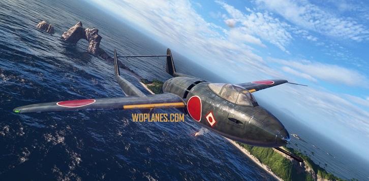 Японский истребитель World of Warplanes