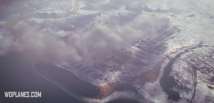 Карта Восточный фронт